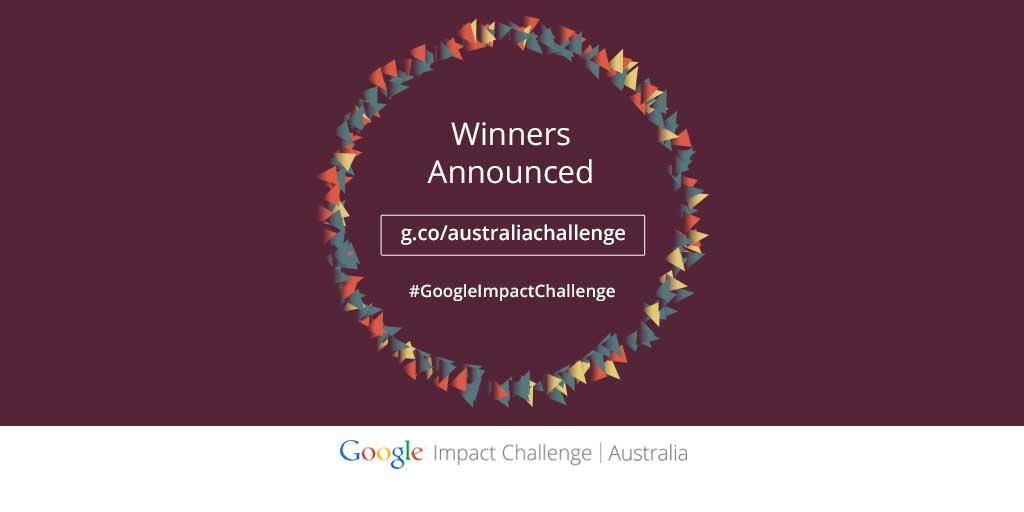 Google.org Impact Challenge Australia 2014