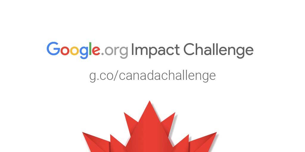 Google.org Impact Challenge Canada 2017