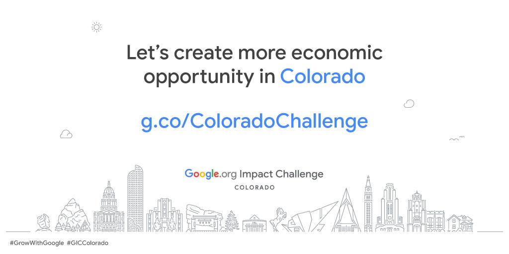 Google.org Impact Challenge Colorado 2019