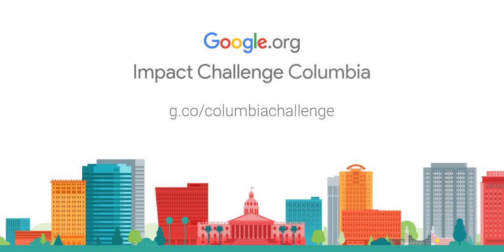 Google.org Impact Challenge Columbia 2018