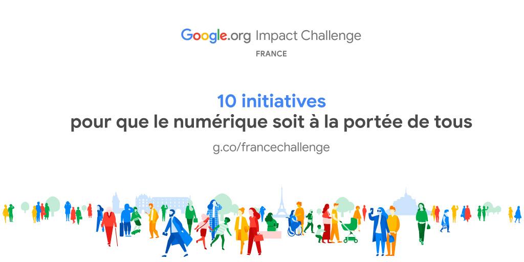 Google.org Impact Challenge France 2019 | Le Garage Numérique