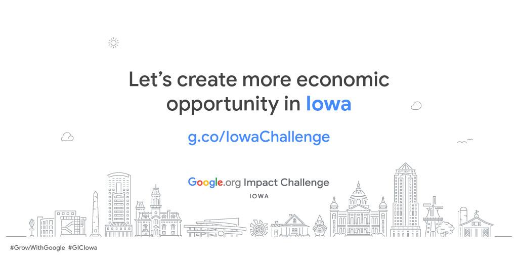 Google.org Impact Challenge Iowa 2019 | NewBoCo