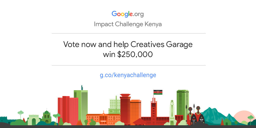 Empower Creatives Garage to drive more community impact in Kenya