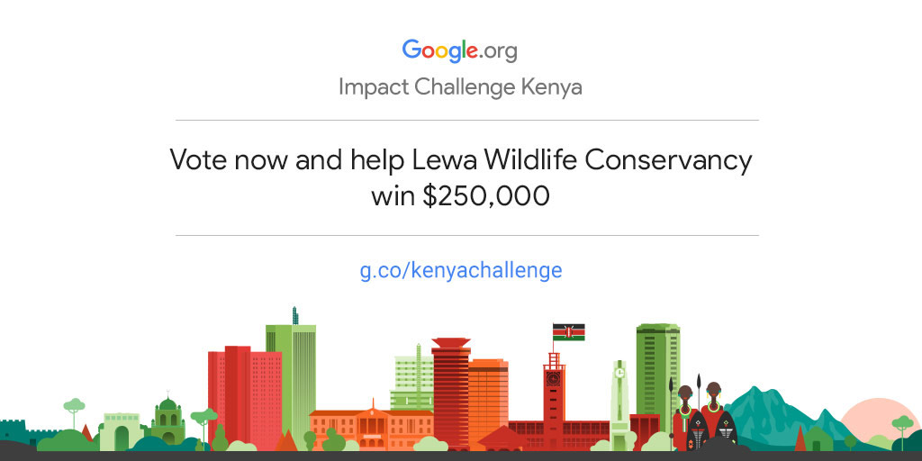 Empower Lewa Wildlife Conservancy to drive more community impact in Kenya