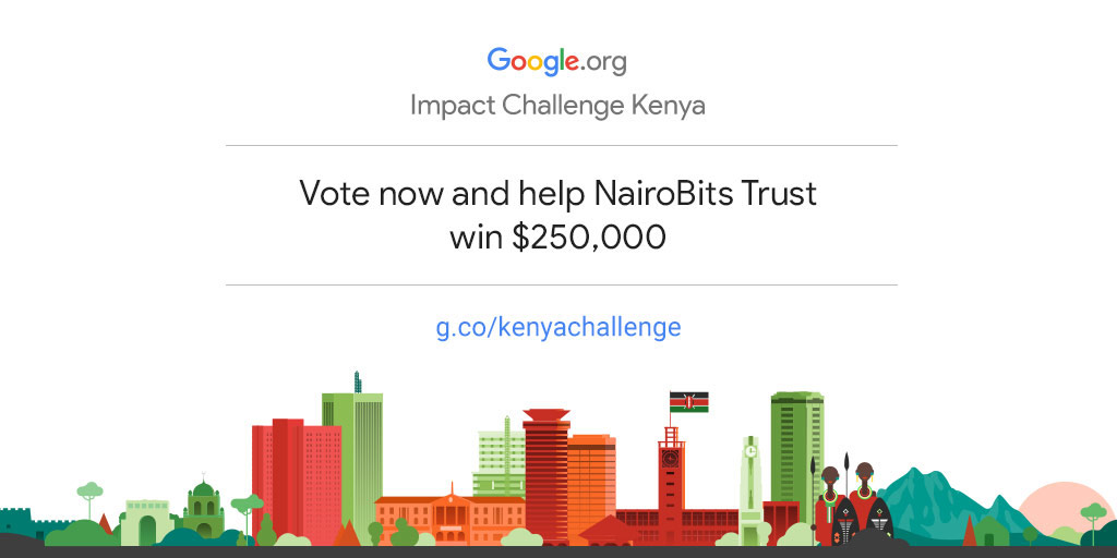Empower NairoBits Trust to drive more community impact in Kenya