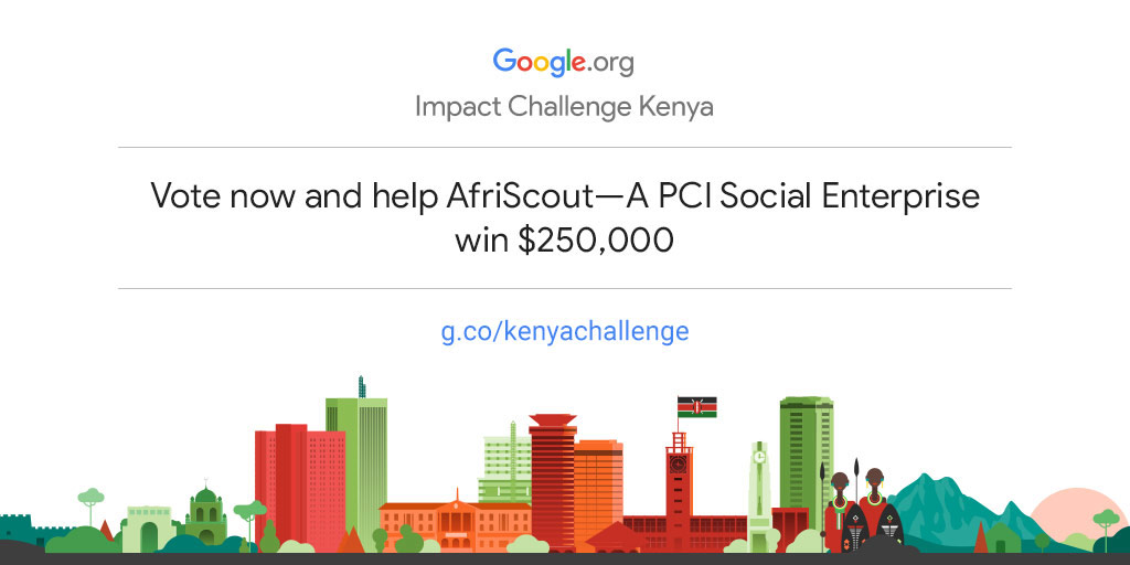 Empower AfriScout—A PCI Social Enterprise to drive more community impact in Kenya
