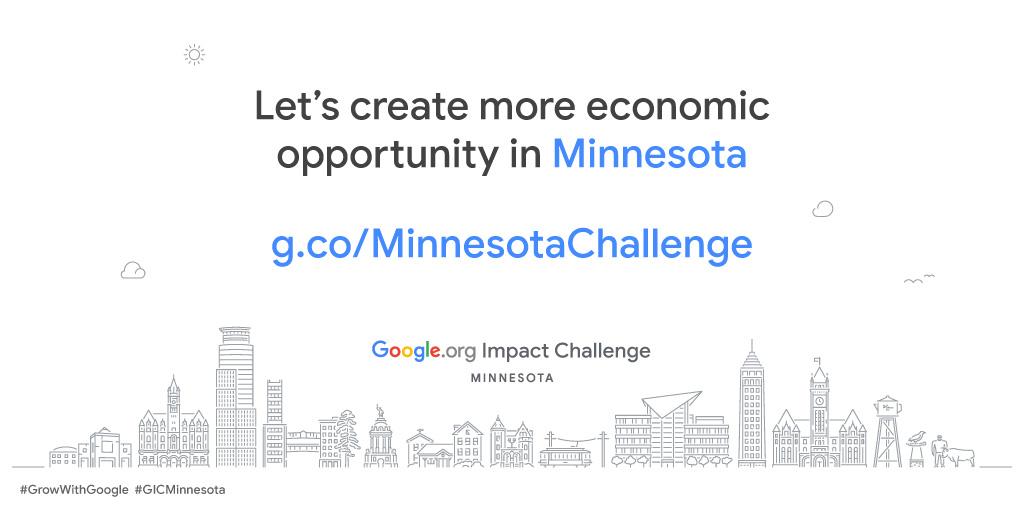 Google.org Impact Challenge Minnesota 2019