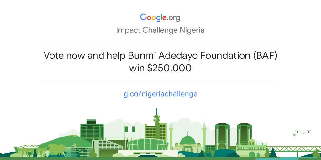 Empower the Bunmi Adedayo Foundation to drive more community impact in Nigeria