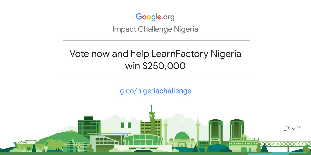 Empower LearnFactory Nigeria to drive more community impact in Nigeria