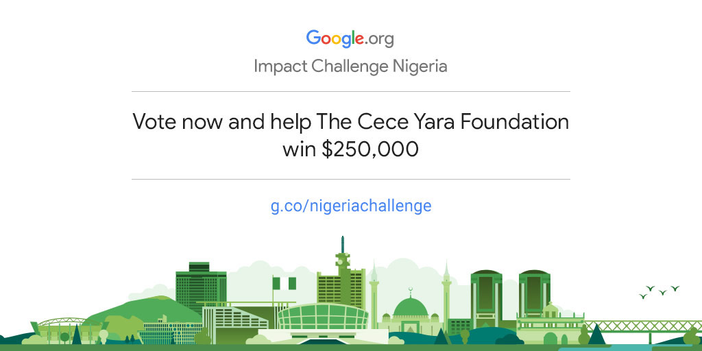 Empower the Cece Yara Foundation to drive more community impact in Nigeria