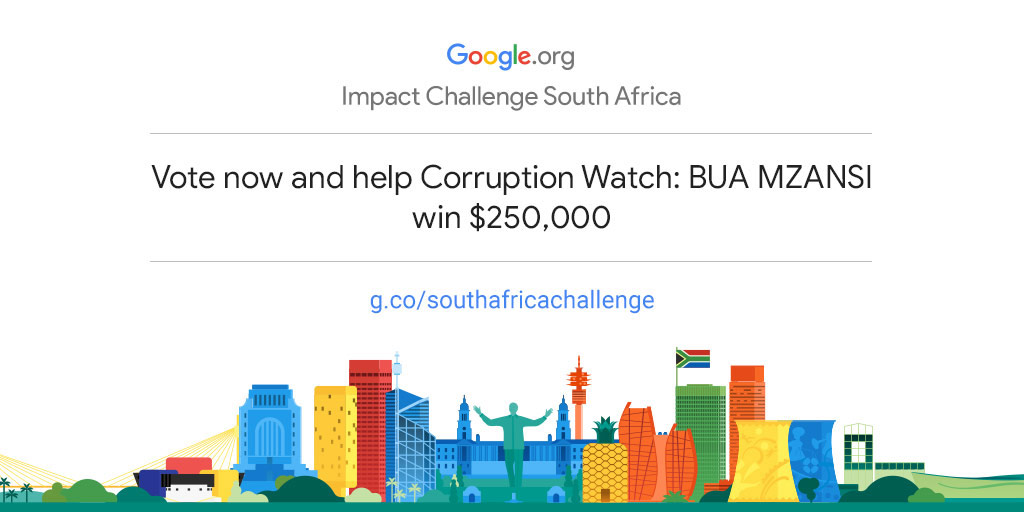 Empower Corruption Watch to drive more community impact in South Africa