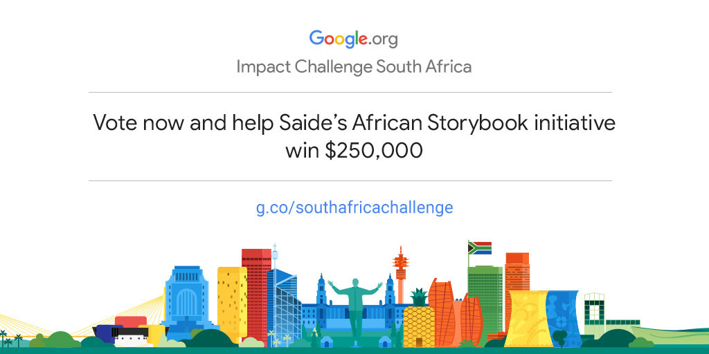 Empower Saide's African Storybook initiative to drive more community impact in South Africa