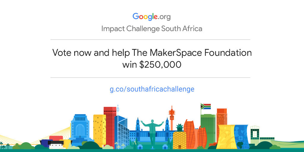 Empower The MakerSpace Foundation to drive more community impact in South Africa